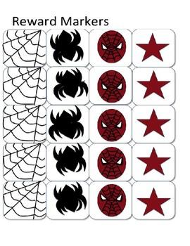 Spiderman Inspired Token Board