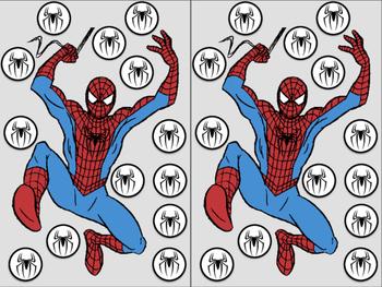 Spiderman Magnet Chip Boards