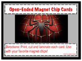 Spiderman Magnet Chip Boards