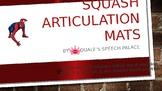 Spiderman Squash Articulation Mats