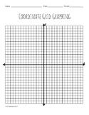 Spiderman Symbol Coordinate Grid Graphing
