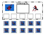 Spiderman Token Board