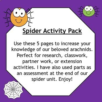 Spider Science Research