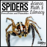 Spiders Unit: PowerPoint and Printables, Non-Fiction