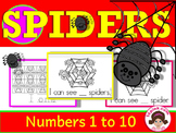 Spiders Math Activities