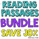 Reading Comprehension Passages BUNDLE for Third Graders