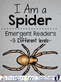 Spiders Emergent Reader Set