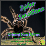 Spiders Math Poem and Songs: Counting and Subtraction