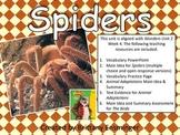 Spiders - 4th Grade McGraw Hill Wonders