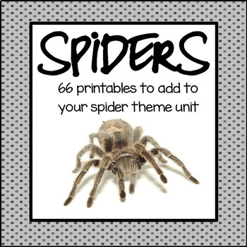 Spiders Activities and Printables
