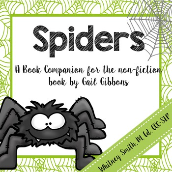 Spiders: A Book Companion