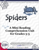 Spiders: A Mini Reading/Science Comprehension Unit