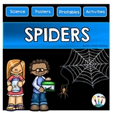 Spiders: All About Spiders Activity Pack for Science Cente