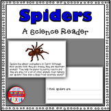 Spiders Science Reader