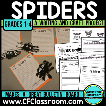 Spiders A Writing Project Resource Kit