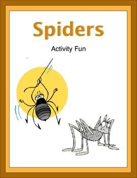Spiders Activity Fun