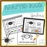 Spiders Adapted Book & Student Book for Early Childhood Special Education
