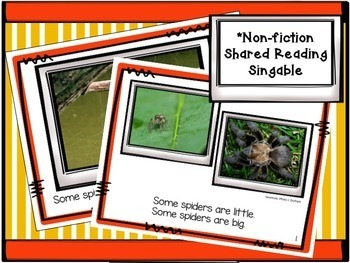 Spiders! All About Spiders Non-fiction Unit