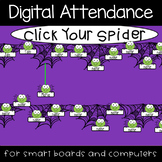 Spiders Attendance (Whiteboards, Smartboard, Computers)
