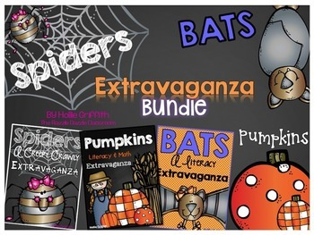 Spiders, Bats, & Pumpkins: Extravaganza BUNDLE