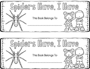 Spiders, Bats, and Nocturnal Animals {3 Emergent Readers and Big Books}