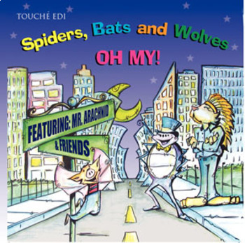 {Educational Music CD}  Spiders, Bats and Wolves...Oh my!