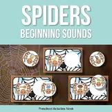 Spiders Beginning Sounds