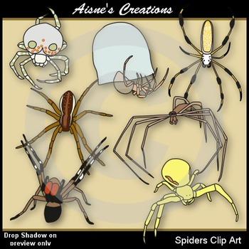 Spiders Clip Art