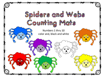 Spiders Counting Cards