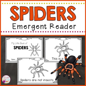 Spiders Emergent Reader