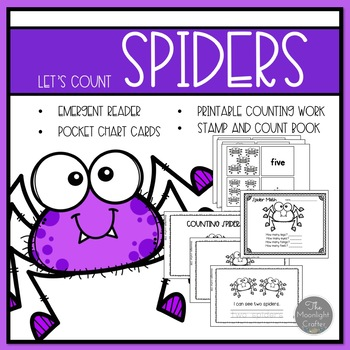 Spiders Emergent Readers and Mini Literacy Set