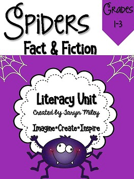 Spiders:  Fact & Fiction