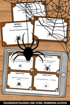 Spider Facts, Halloween Games, Science Center Activities