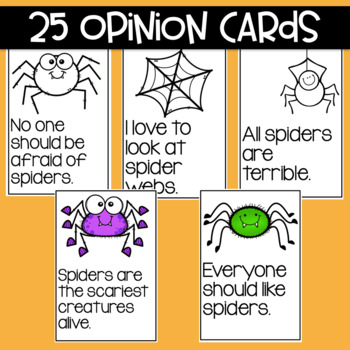 Spiders: Fact and Opinion