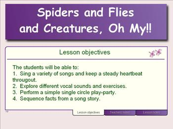 Spiders & Flies & Creatures, Oh My!! (Song Collection About Bugs)