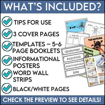 Spiders Flipper Book
