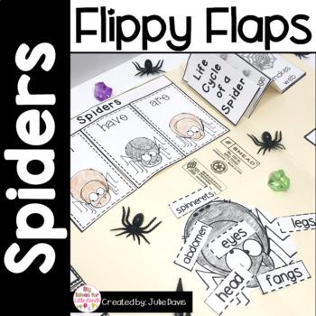 Spider Activities Interactive Notebook Lapbook