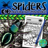 Spiders! {A booklet of activities celebrating the spider's life cycle}