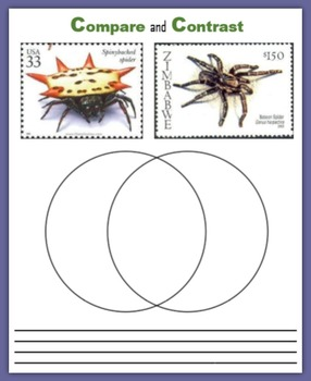 Spiders:  Fun with Postage Stamps
