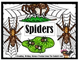 Spiders!:  Informational Book w/Photos, Activities, and Co