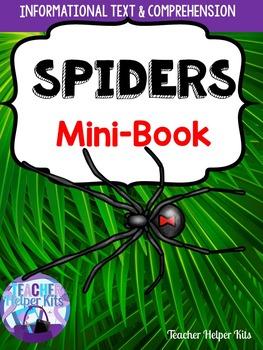 Spiders Informational Minibook