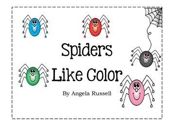 Spiders Like Color