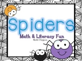Spiders-Math and Literacy Activities
