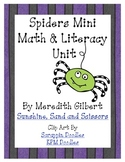 Spiders Math and Literacy Mini Unit