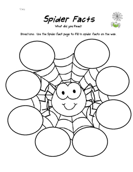 Spiders -NO PREP-  Research Packet