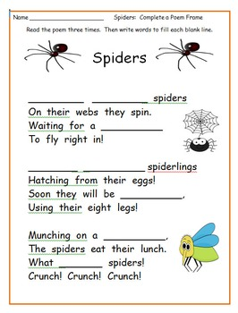 Spiders Nonfiction National Geographic Level 1