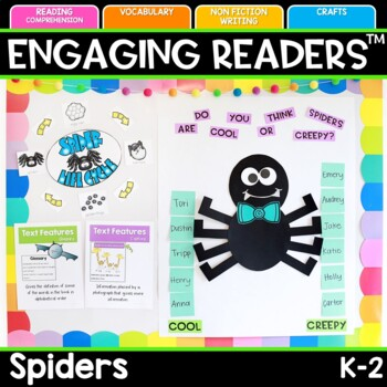 Spiders Nonfiction Reading Comprehension Unit