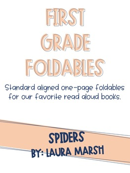 Spiders One-Page Foldable