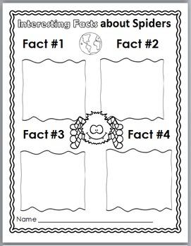 Spider Life Cycle, Spider Science & Literacy, Spider Unit - Spider Literacy