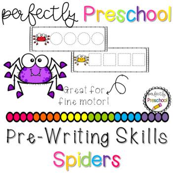 Spiders Prewriting Skills